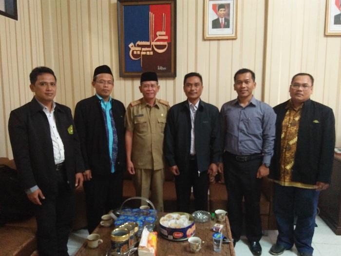 Audiensi Pimpinan Fakultas Tarbiyah ke Kepala Dinas Pendidikan dan Kebudayaan Kab. Tasikmalaya