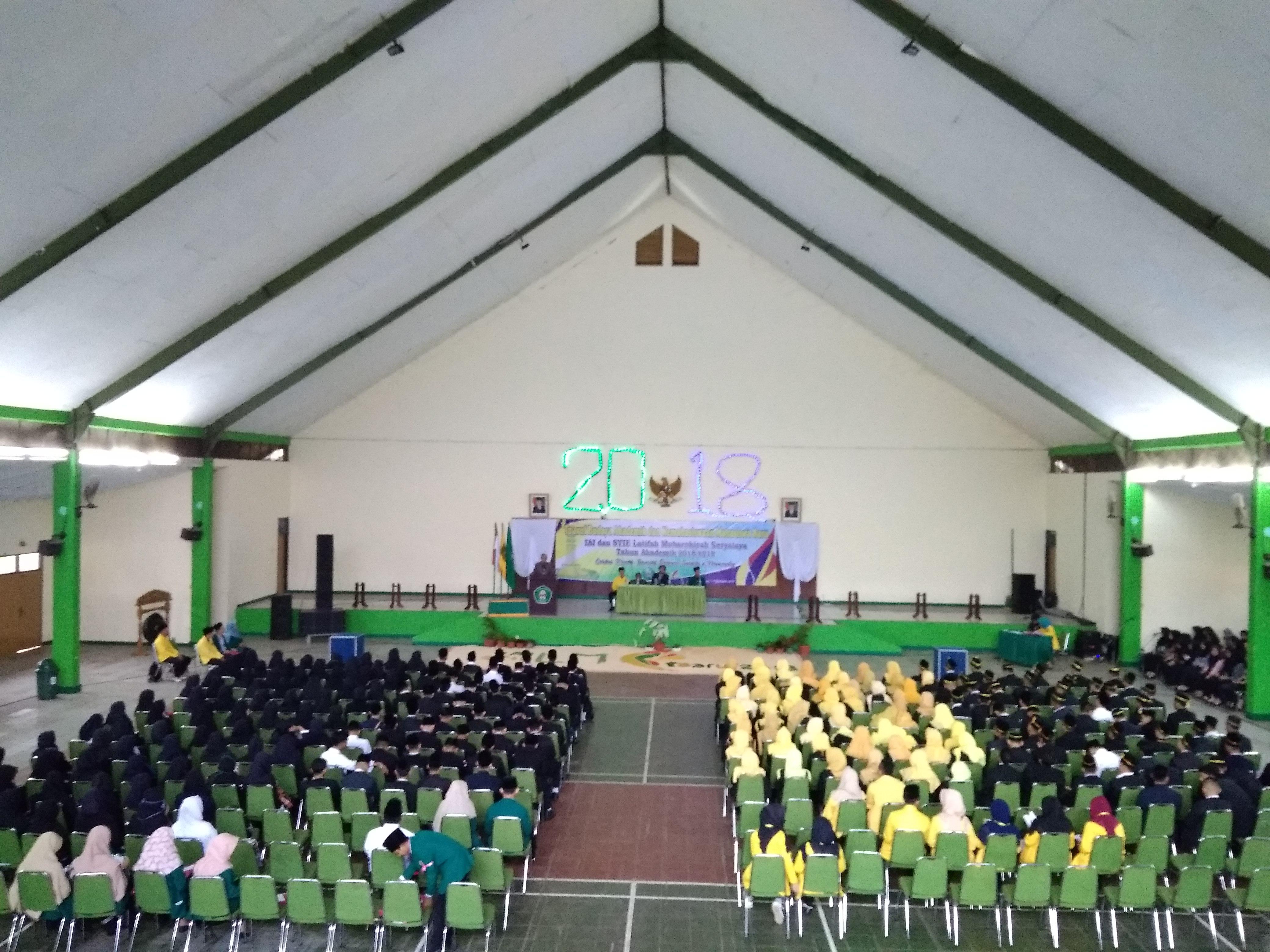 Inagurasi Mahasiswa Baru IAILM 2018
